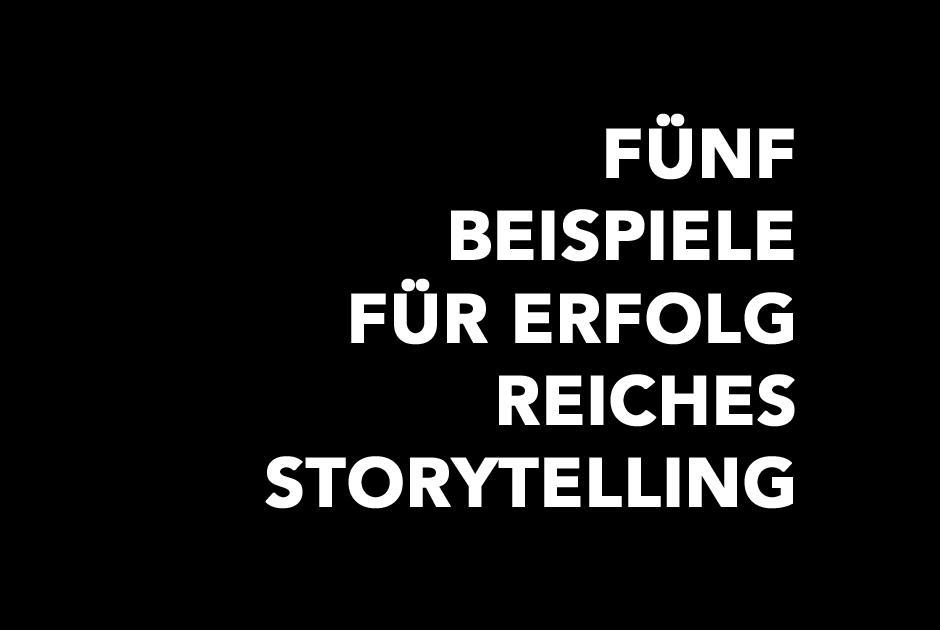 Storytelling done right