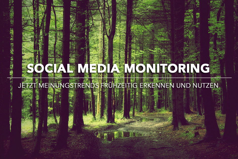 Social Media Monitoring | Jetzt Meinungstrends frühzeitig erkennen und nutzen