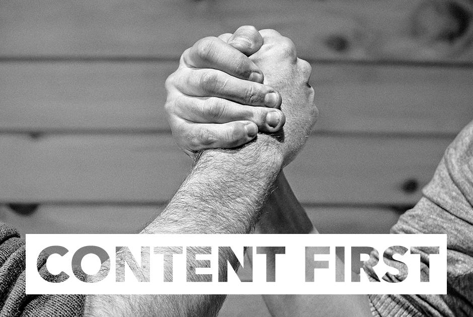 Content First | Ist der klassische Webdesign-Workflow out?