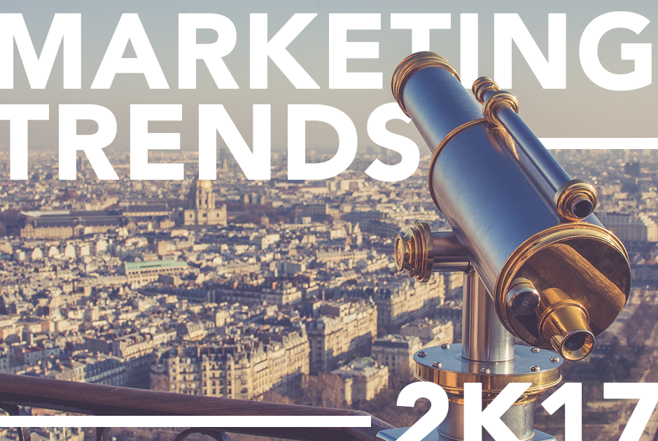 5 IT-, Kommunikations- und Marketingtrends 2017